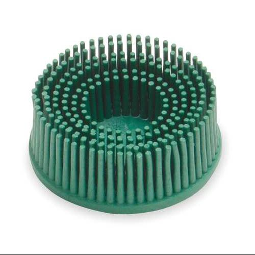 3M 18730 Tapered Bristle Disc, 2 In Dia, 50G