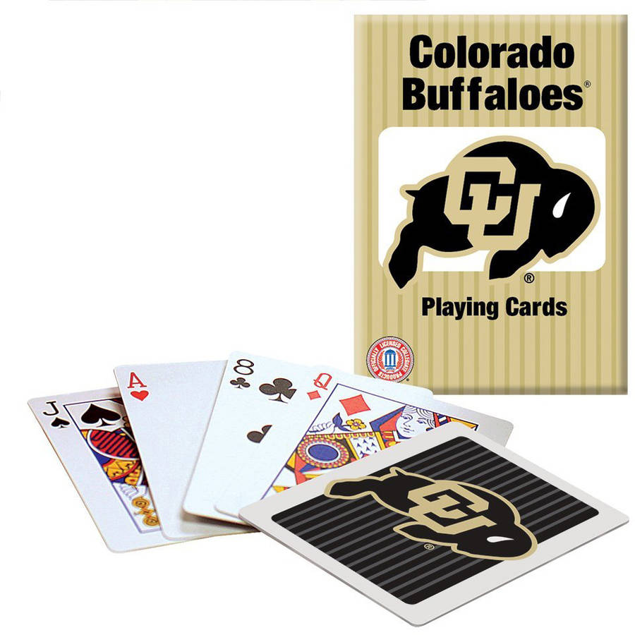 Officially Licensed NCAA Colorado Playing Cards