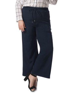 e59a7b4bc93dc Product Image Women s Plus Size Wide Leg Elastic Drawstring Pants