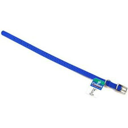 Coastal Pet Single Nylon Collar - Blue 10 Long x 3/8 Wide