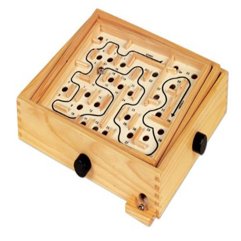 Small World Toys Ryans Room Wooden Toys Lucky Labyrinth by