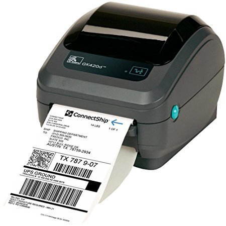 4x6 Zebra 2844 ZP450 ZP505 Direct Thermal Shipping Label for FEDEX, UPS,  USPS - (3 Rolls