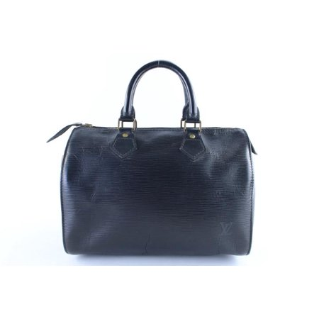 Louis Vuitton Noir Epi Speedy 25 17LR0126