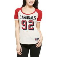 St. Louis Cardinals '47 Women's Triple Play Scoop T-Shirt - Cream
