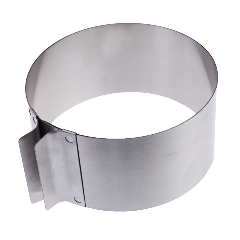 Stainless Steel Round Circle Cookie Fondant Cake Mold Cutter Pastry Tool Safe DI