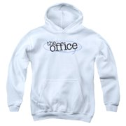 The Office Circled Logo Big Boys Pullover Hoodie