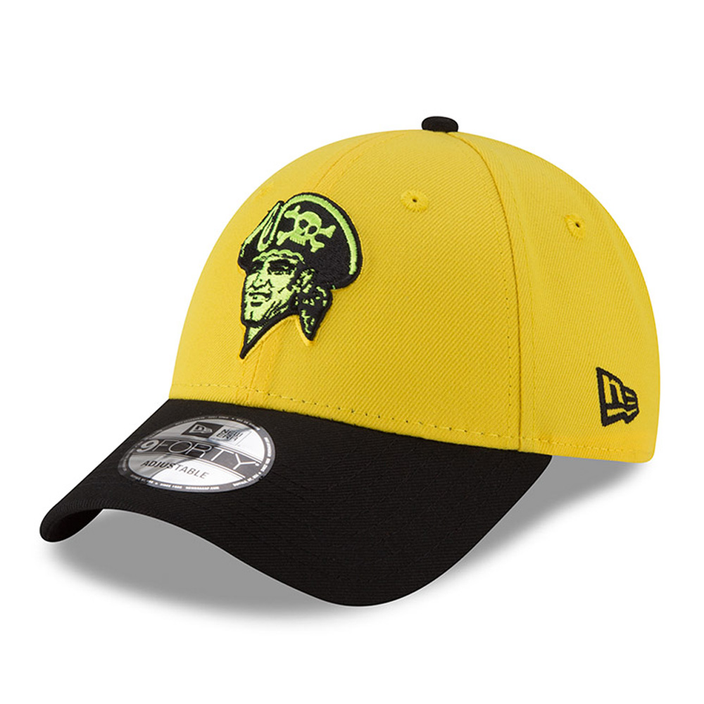 Pittsburgh Pirates New Era 2018 Players' Weekend 9FORTY Adjustable Hat - Yellow/Black - OSFA