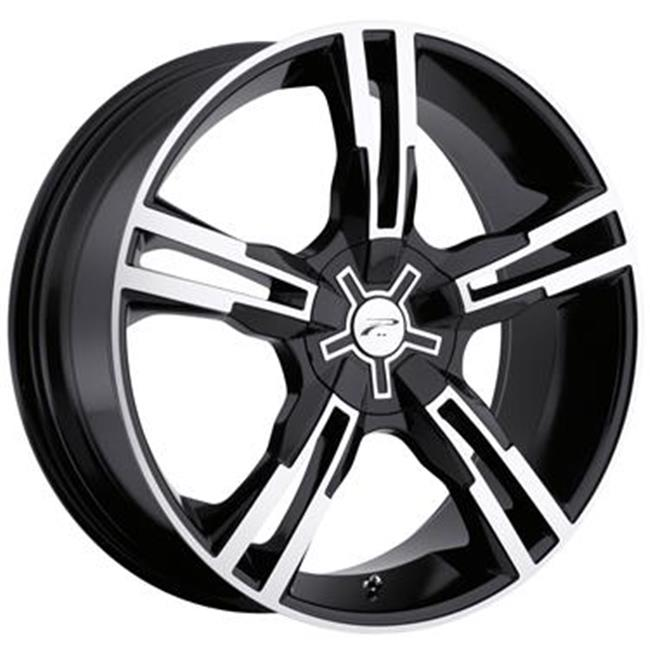 ULTRA 2927710B 292 Saber Wheel - Gloss Black With Diamond Cut Accents