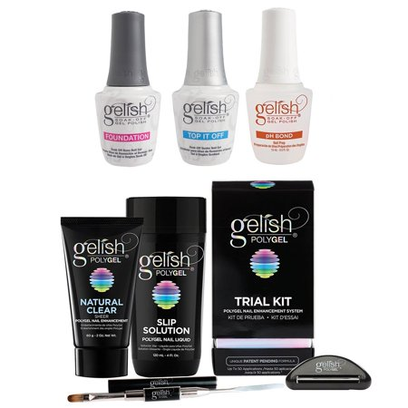 Gelish PolyGel Trial Kit &  Terrific Trio Gel Polish Essentials Kit