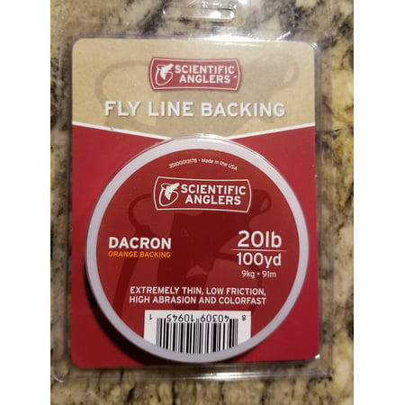 - Scientific Anglers Dacron Fly Line Backing 100-yrds