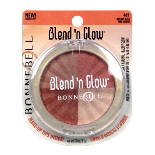 Bonne Bell Blend N Glow Natural Blush Face Powder #462, Kit - 2 Ea