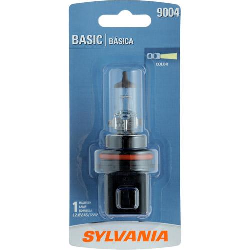 Sylvania 9004 Basic Headlight, Contains 1 Bulb