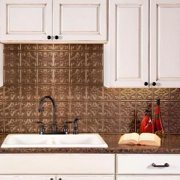 Fasade  Traditional Style #1 Argent Bronze Backsplash 18-inch x 24-inch Panel