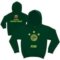 Personalized Wild Kratts Kangaroo Power Boys' Green Hoodie