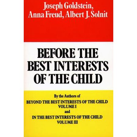 Before the Best Interests of the Child - eBook