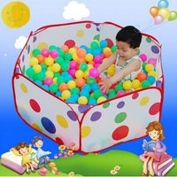Toy Tents Toys & Hobbies Kids Play Tent Game House Pool Children Tent Ocean Ball Pool Baby Educational Pop Up Toy Tent Outdoor Fun & Sports Lawn Tent