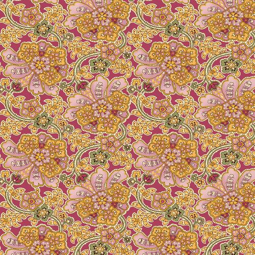 VIP Fabrics Hydrangea Gardens Fabric