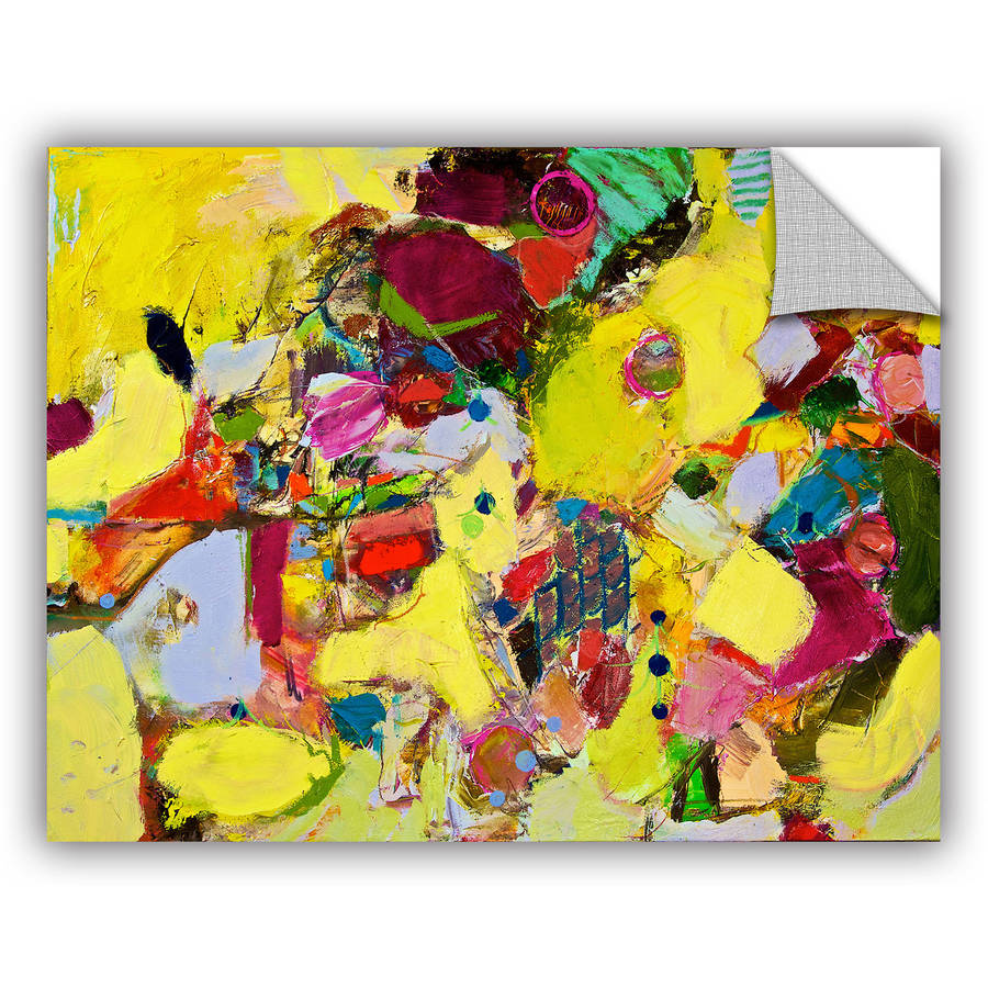 "ArtAppealz Allan Friedlander ""Bumble"" Removable Wall Art"