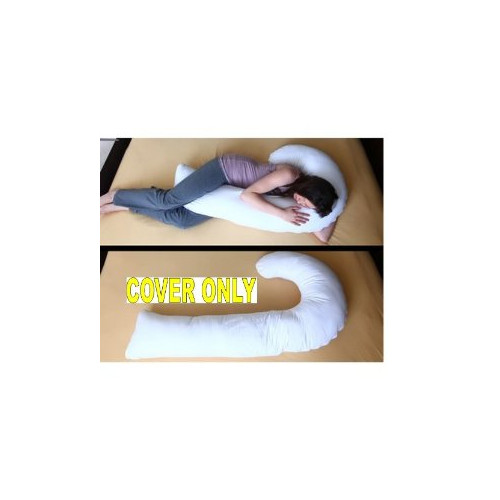 Deluxe Comfort J Body Pillow Replacement Cover