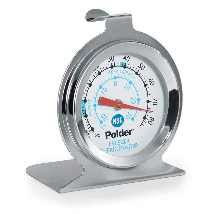 Polder NSF Fridge/Freezer Thermometer