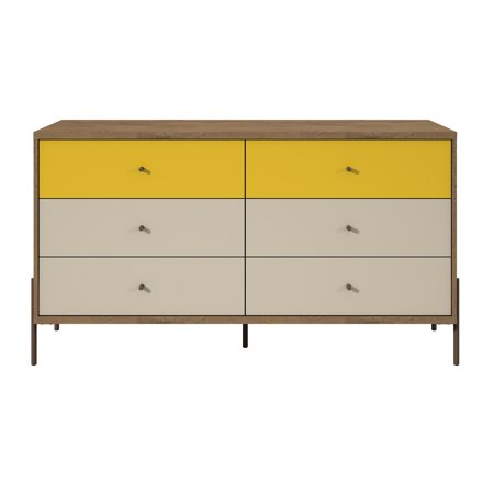 Manhattan Comfort Joy 6 Drawer Dresser