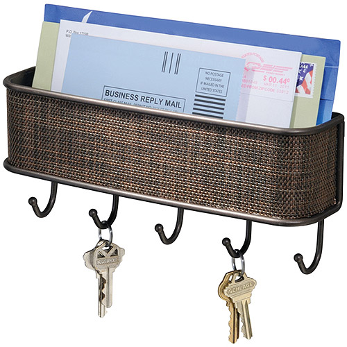 ... Twillo Mail and Key Rack, Wall Mounted