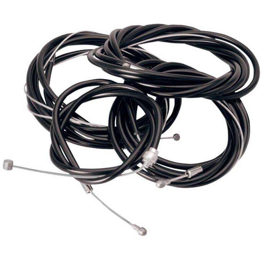 Bell Sports Pit Crew 600 Bicycle Shifter Cable Set, Black