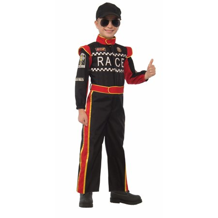 Halloween Child Race Car Driver Costume - Homemade Race Car Halloween Costume