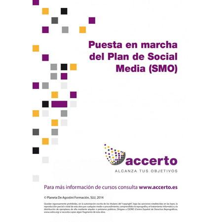 Puesta en marcha del Plan de Social Media (SMO) - eBook