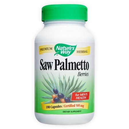 Nature's Way Saw Palmetto Berries Caps, 180 Count