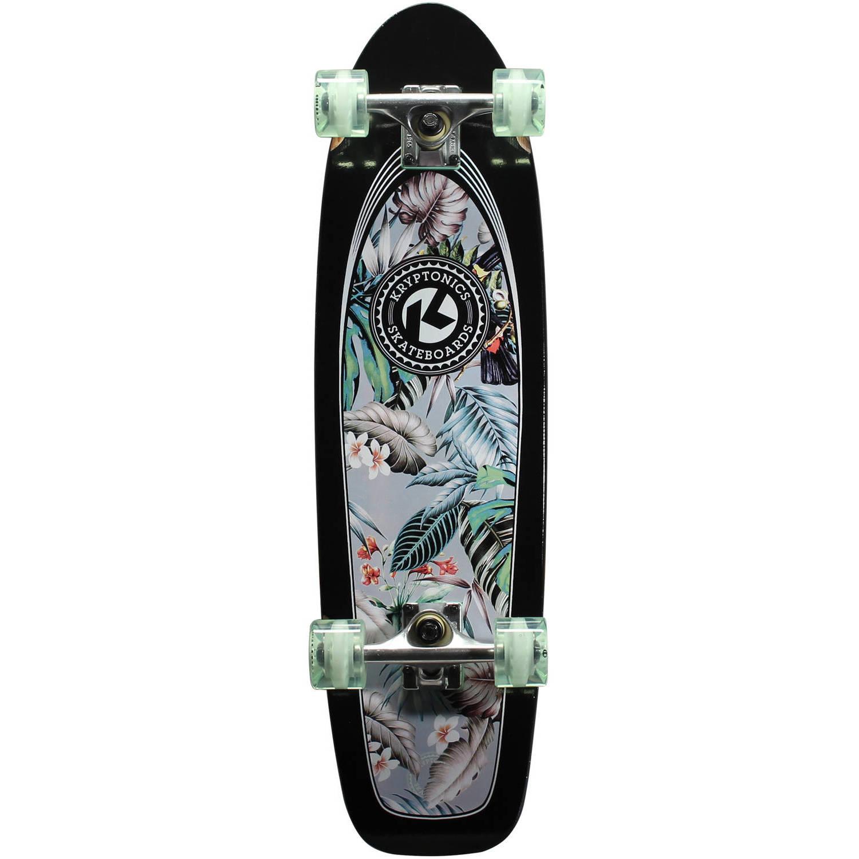 "Kryptonics Complete Cruiser Skateboard, 30"" x 8"""