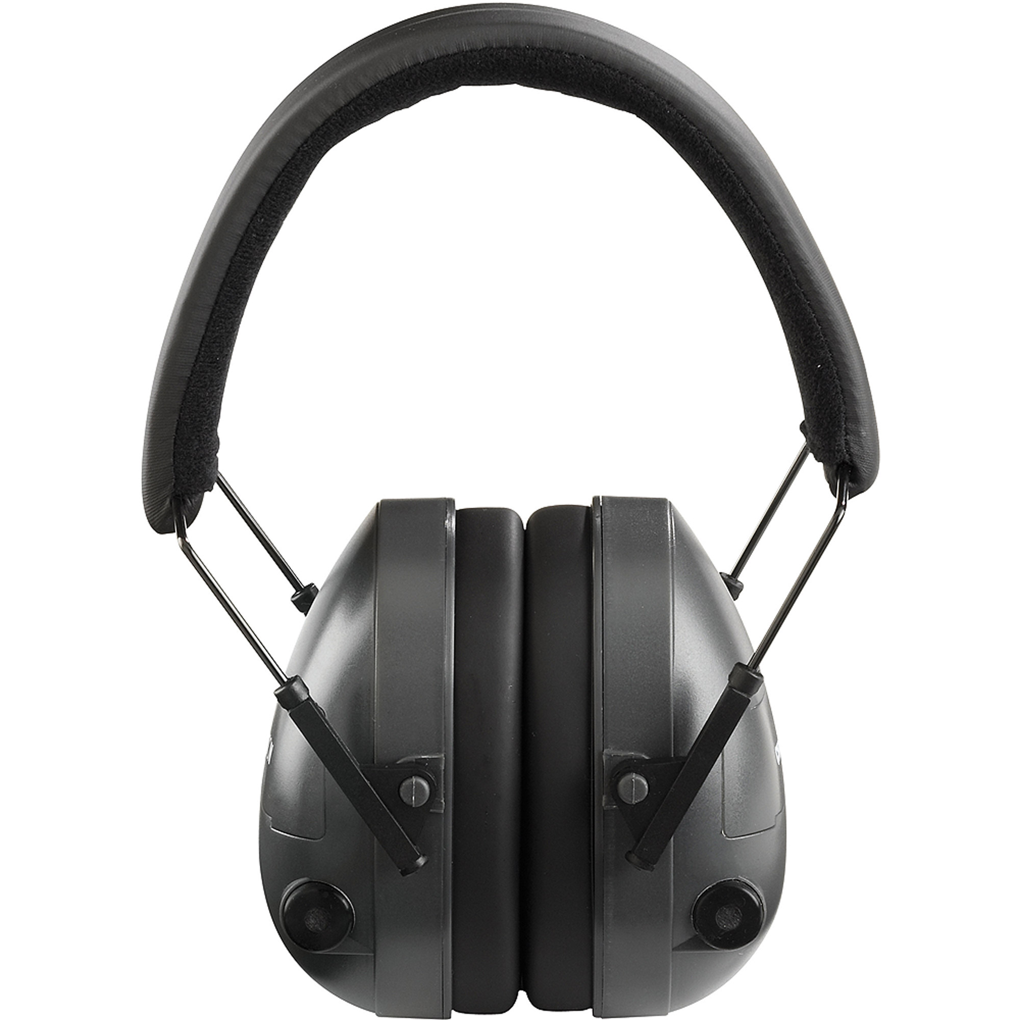 Champion Traps and Targets 21db NRR Electronic Earmuffs, Plastic, Black