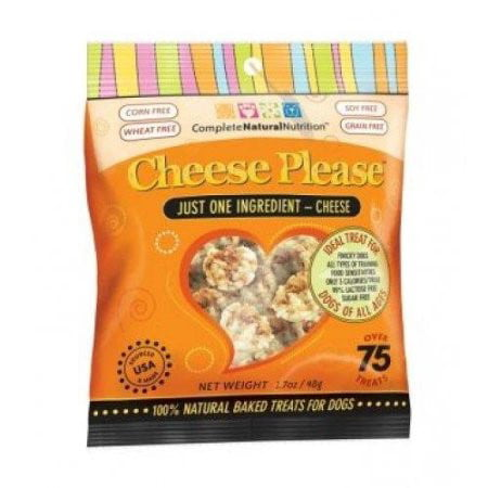 Complete Natural Nutrition CheesePlease Cheese Dog Treats, 1.7 Oz](Nutritious Halloween Treats)