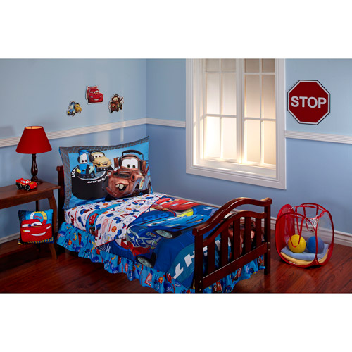 DISCONTINUED - Disney Cars Max Rev 10-Piece Toddler Bedding Set