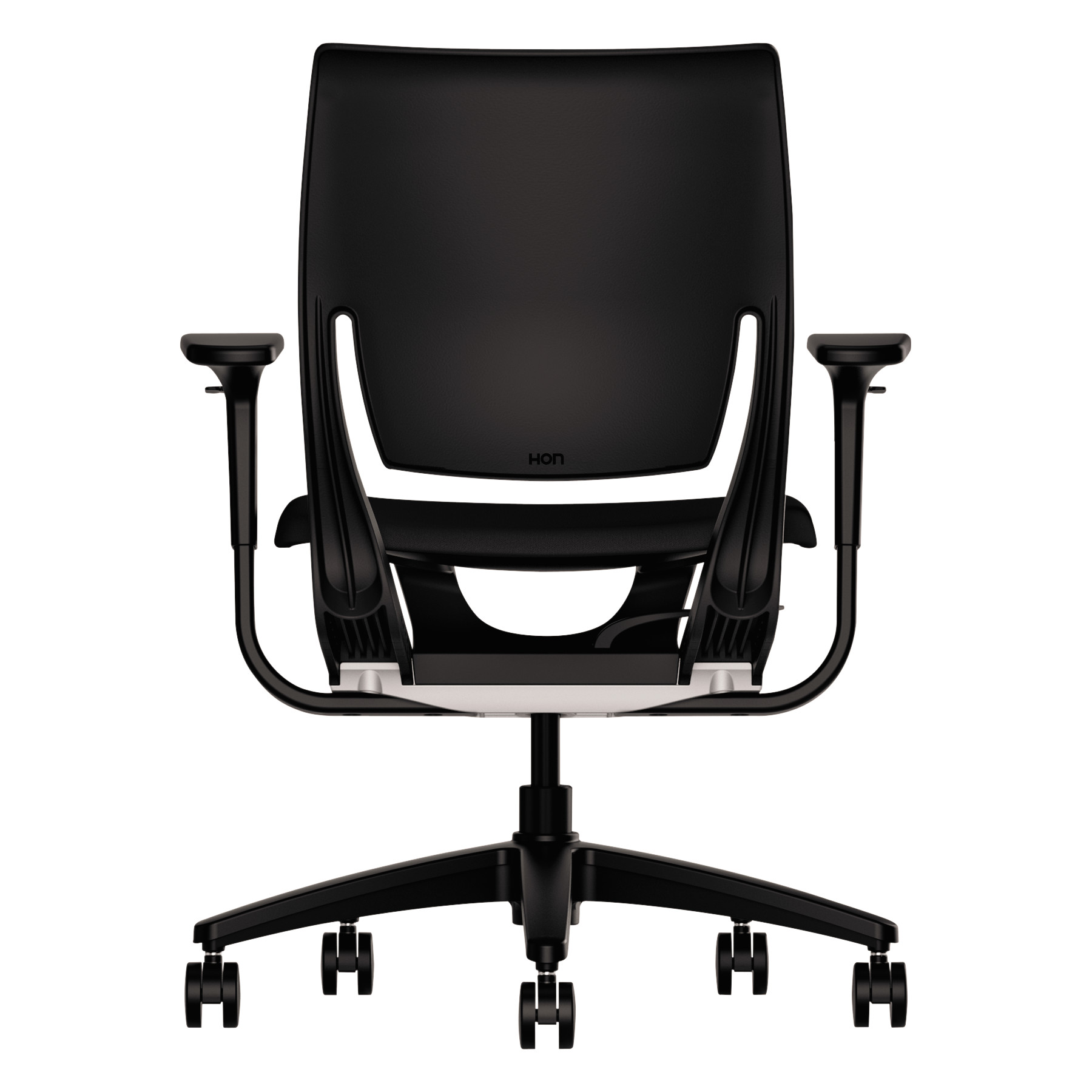 HON Purpose Upholstered Flexing Task Chair Black Black Walmart