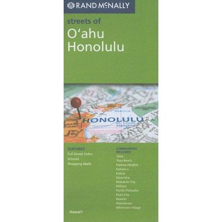 Rand mcnally streets of...: rand mcnally streets of o'ahu, honolulu, hawai'i (other):