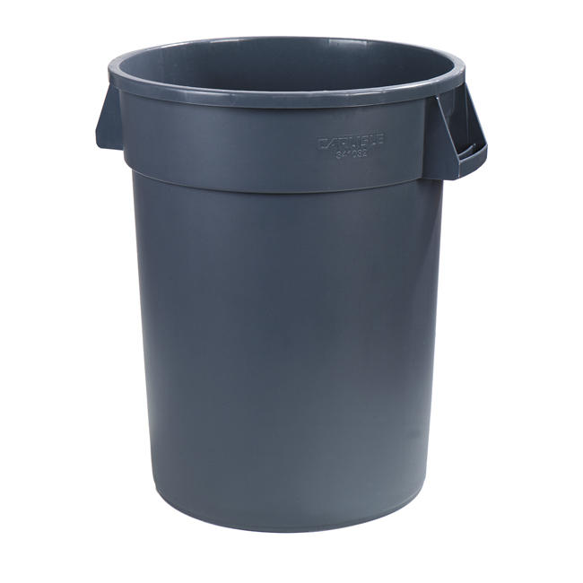 Bronco Waste Container Gray 44 gal