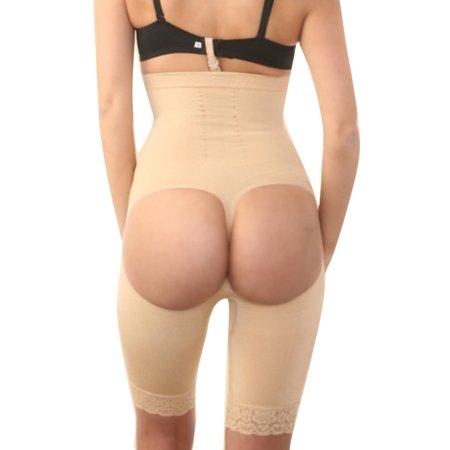 FeelinGirl Women's Men's Underburst Butt Lifter Slimming Thigh Trimmer Waist Cincher Gridle
