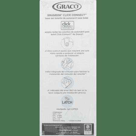 Graco SnugRide Click Connect LX Infant Car Seat Base, Black - Best ...