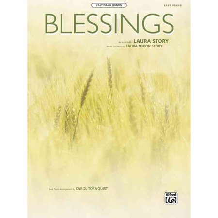 Blessings: Easy Piano Edition, Sheet by