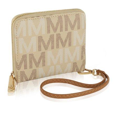 mkf collection bismarlyn milan m signature wristlet/ wallet by mia k. farrow ()