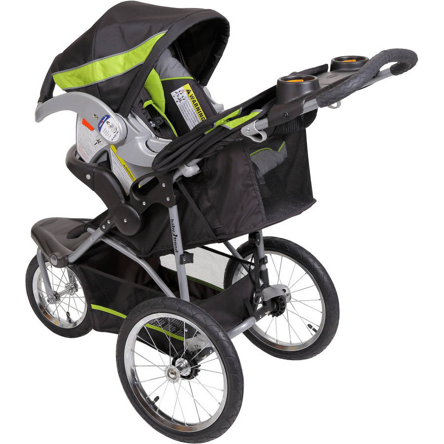 Baby Trend Expedition Jogger Travel System, Millennium Green ...
