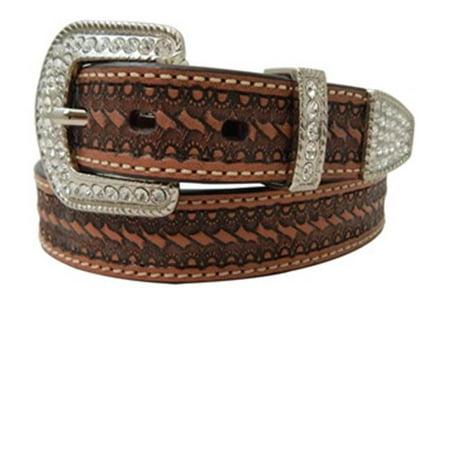 Roper Men Belt Size 40 Brown