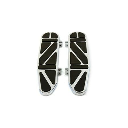 Long Footboards (Long John Driver Footboard Set,for Harley Davidson,by V-Twin )
