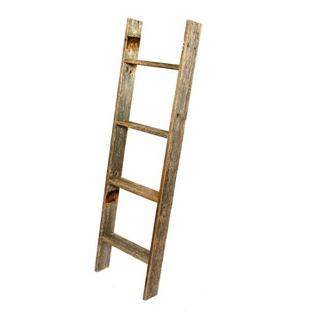 Barnwoodusa Rustic Farmhouse Blanket Ladder Our 4 Ft Can Be Mounted Horizontally Or Vertically And Is Crafted From 100 Recycled