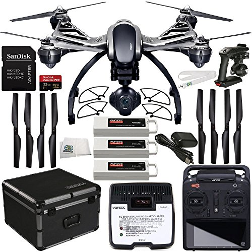 YUNEEC Q500 4K Typhoon Quadcopter with CGO3-GB Camera Bun...