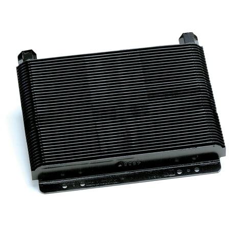 B&M 70266 Cooler, Supercooler Medium, 20,500 BTU Rating, NPT Fittings, Plate Type, Black ()