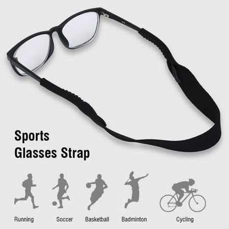 5pcs Sports Glasses Elastic Neck Strap Retainer Cord Chain Holder Lanyard for Eyeglasses,Glasses Strap, Glasses Chain (Elastic Strap For Kids Glasses)