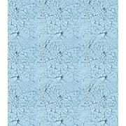 """Craft Consortium Decoupage Papers 13.75""""X15.75"""" 3/Pkg-Blue Crack Texture"""