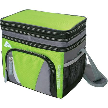 Ozark Trail 6 Can Cooler With Removable Hardliner Green